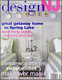 Interior design work featured in Design NJ Magazine