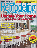 Bathroom remodel featured in Home Remodeling & Makovers Magazine