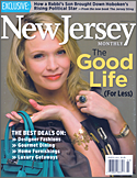 Nancee Brown's interior design work featured in New Jersey Monthly Magazine